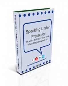 Speaking under pressure 3D